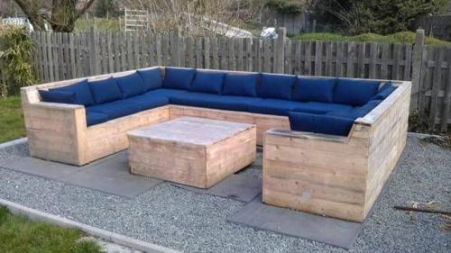 fabulous muebles with muebles de jardin con palets - Muebles De Jardin Con Palets